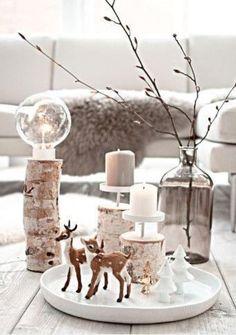 Natural Christmas, Christmas Mood, Noel Christmas, Scandinavian Christmas, All Things Christmas, Christmas Crafts, Xmas, Christmas Lights, Decoration Christmas