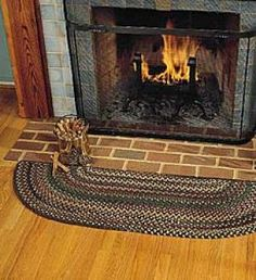 hearth rugs country farmhouse country decor braided rugs floor decor crochet rugs rag rugs frogs primitive - Hearth Rug