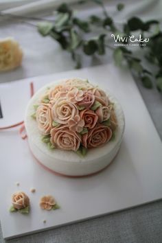 Class  Rice Flower cake  Made by_student Basic course
