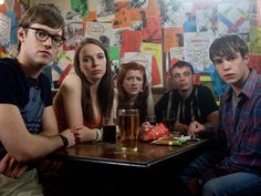 Tout ce que My Mad Fat Diary m'a appris sur la vie Best Tv Shows, Favorite Tv Shows, Movies Showing, Movies And Tv Shows, Series Movies, Tv Series, Addictive Tv Shows, Nico Mirallegro, Freaks And Geeks