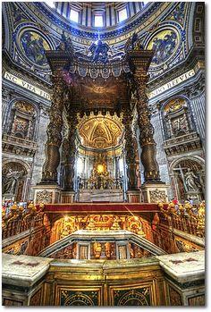 St. Peter's Basilica . Vatican City