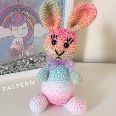 Pretty Piggy * Big Head Baby Doll * Made to Order : Pretty Piggy Big Head Baby Doll Made to Order Bunny Crochet, Easter Crochet Patterns, Crochet Mermaid, Rainbow Crochet, Crochet Teddy, Crochet Patterns Amigurumi, Crochet Toys, Knitting Patterns, Crochet Christmas Wreath