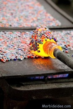 Glass technique using Murrina / Millefiori