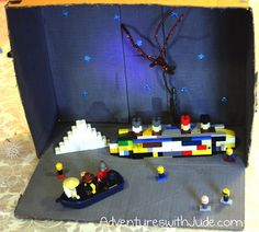 Titanic Lego Diorama (book report in Legos) from Adventures with Jude