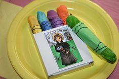 The feast of St. Elizabeth Ann Seton is celebrated on January Here is a snack that was served at one of our Little Flowers Girls' Clu. Catholic Feast Days, Saint Feast Days, Elizabeth Ann Seton, Lenten Season, Bible School Crafts, Crayon Box, Vacation Bible School, Little Flowers, Kitchens