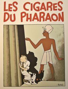 Tintin - Les Cigares du Pharaon
