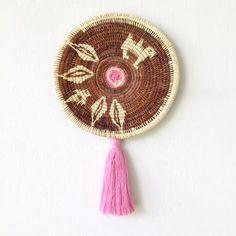 Wall Basket | Chunga Round - Leaf $85