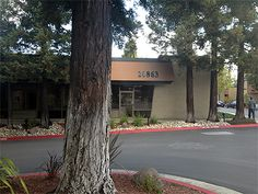 Apple's first office. 20863 Stevens Creek Blvd. in Cupertino, CA.  Where Apple moved after it got too big to fit into the garage at Steve Jobs' parents' house.