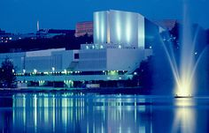 Finlandia house in Helsinki. Designed by Alvar Aalto the most famous architect in Finland. Alvar Aalto, Visit Helsinki, Beautiful Buildings, Best Cities, Capital City, Around The Worlds, Vacation, House, Architecture