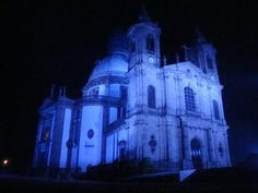 Sameiro Church - Braga - Portugal - light it up blue for World Autism Day April 2