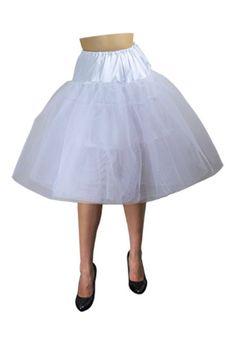 1950's White Organza Petticoat  $29.95  Store: ChicStar.com