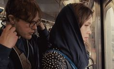 "Astrid Berges-Frisbey as Sofi and Michael Pitt as Ian Gray in Fox Searchlight's ""I ORIGINS"" (2014)"
