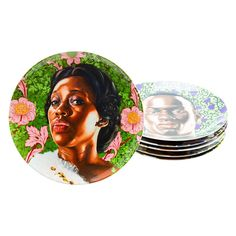 Plate Set by Kehinde Wiley 1