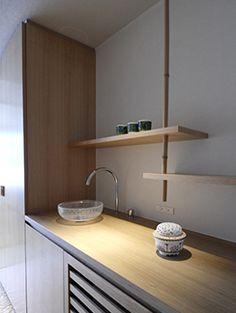 長崎県 湖畔に佇む旅館 | 納品事例 | 美しいデザインの洗面台をはじめとした水まわり商品のセラトレーディング
