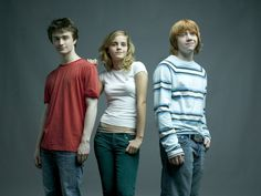 Harry Potter - Harry, Hermione, and Ron