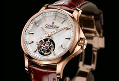 Admiral's Cup 42 tourbillon with microrotor by Corum