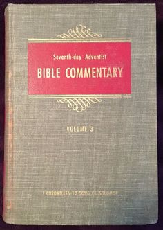4 ellen g white vintage classics seventh day adventist christian seventh day adventist bible commentary vol 3 1954 francis nichol editor hb sda fandeluxe Gallery