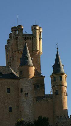 Segovia  Alcazar  Spain