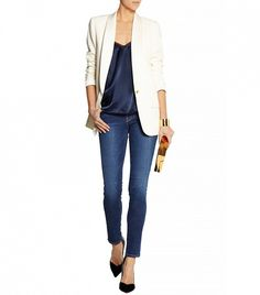 J.Crew Collection Tuxedo Blazer
