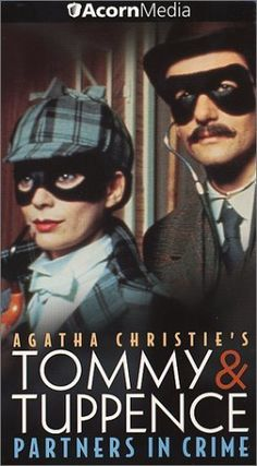 agatha christie's tommy and tuppence mystery series, cute and fun, love tuppence's hats