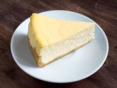Plain cheesecake at La Cheesecake