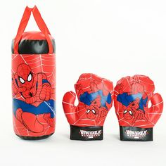 Disney 2020 Marvel Spiderman Kids Toy Gloves Sandbag Suit Birthday Gifts Boxing Outdoor Sports Toys For Parent-child Interaction - Ziloqa Store Kids Toy Boxes, Kids Toys, Certificate Model, Certificate Design, Spiderman Kids, Cheap Toys, Sports Toys, Boxing Gloves, Kids Boxing