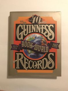 The Guinness Book of World Records 1957-1997 Hardcover Dust Jacket | Books, Nonfiction | eBay!