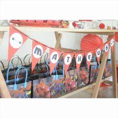 Big Hero 6 Birthday Party Ideas   Photo 1 of 17   Catch My Party