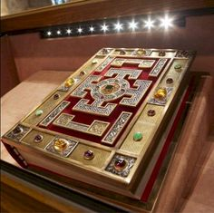 Lindisfarne Gospels The manuscript is one of the finest works in the unique style of Hiberno-Saxon or Insular art, combining Mediterranean, Anglo-Saxon and Celtic elements. The Lindisfarne Gospels are presumed to be the work of a monk named Eadfrith, who became Bishop of Lindisfarne in 698 and died in 721