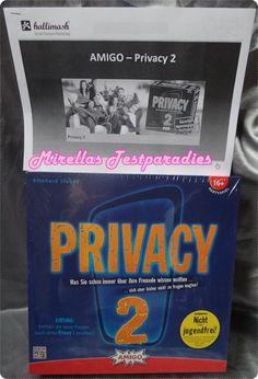 Privacy 2 - Das neue pikante Partyspiel von Amigo | Mirellas Testparadies