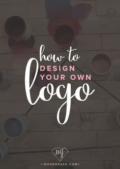 How to design your own logo with the help of a Hungry JPEG graphics and fonts bundle