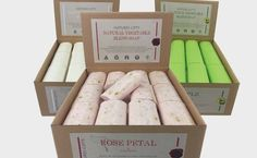 BED & BATH: Natures Gifts soaps by Clover Fields