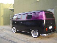 Purple Marble Bulli VW