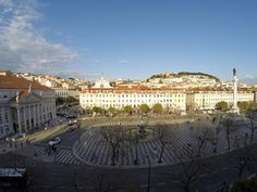 By a drone Lisbon, 18th Century, Paris Skyline, Travel, Viajes, Trips, Traveling, Tourism, Vacations