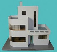 art deco/modern dollhouse