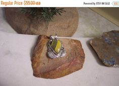 Sale Price Bumble Bee Jasper 925sterling silver by WearableArt1