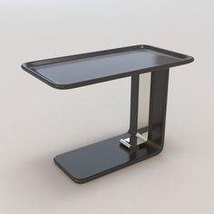 Sacristain Side Table by Christian Liaigre 3D Model .max .c4d .obj .3ds .fbx .lwo .stl @3DExport.com by HarrisKalinka