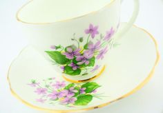 Rosina cup and saucer  fine bone china high tea party