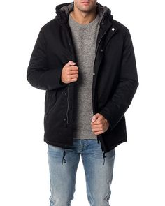 Blake Padded Jacket Black