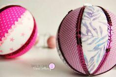 My pink Xmas V: bolas para el árbol y más...