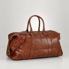 Sac de voyage en cuir - Polo Ralph Lauren Sacs de voyage - Ralph Lauren  France a55aa60a85d63