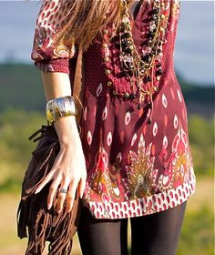 Bohemian fashion- boho - ☮k☮ https://www.facebook.com/bohemiangypsy2