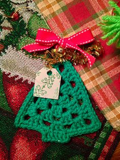 Crochet Christmas Ornament | Flickr - Photo Sharing!