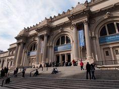 メトロポリタン美術館/ニューヨーク。  内部でかすぎて全部みるには3日はかかりそう。見所だけでも1日はかかる。