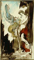 Œdipe et le Sphinx, Gustave Moreau