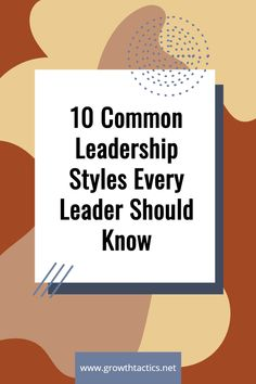 Types Of Leadership Styles, Leadership Examples, Effective Leadership, Leadership Tips, Leadership Development, Professional Development, Personal Development, Democratic Leadership Style, Servant Leadership