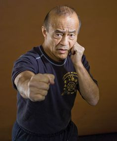Guro Dan the man, the living legend, the purveyor of awesomeness and inspiration to all, Inosanto. Bruce Lee's protoge, a.k.a the teacher's teacher.