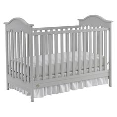 Fisher-price Charlotte 3-in-1 Convertible Crib - Misty Grey