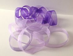 Ribbon Bundle 6 Metres, Purple Shades £3.80