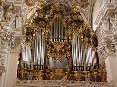 Organ in cathedral of Passau